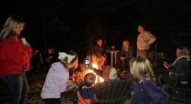 Bonfire Fun With Our Guests!